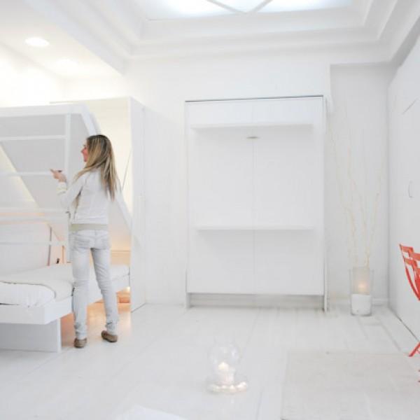 armadio letto richiudibile a parete