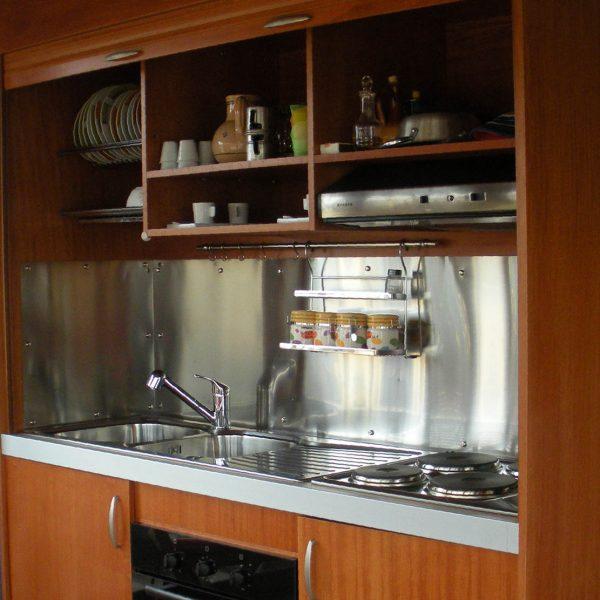 Cucine modulari per monolocale - vivilospazio - mobili trasformabili