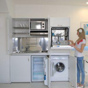 Armadio cucina compact 184 vivilospazio mobili for Arredamento salvaspazio