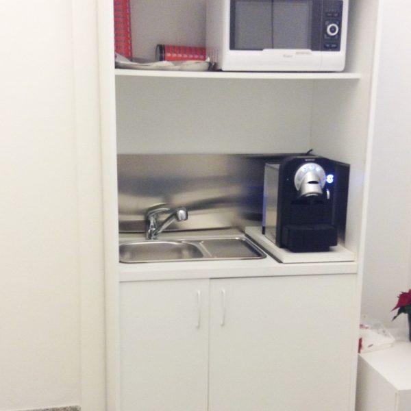 cucina compact larga 94 cm con angolo caffè