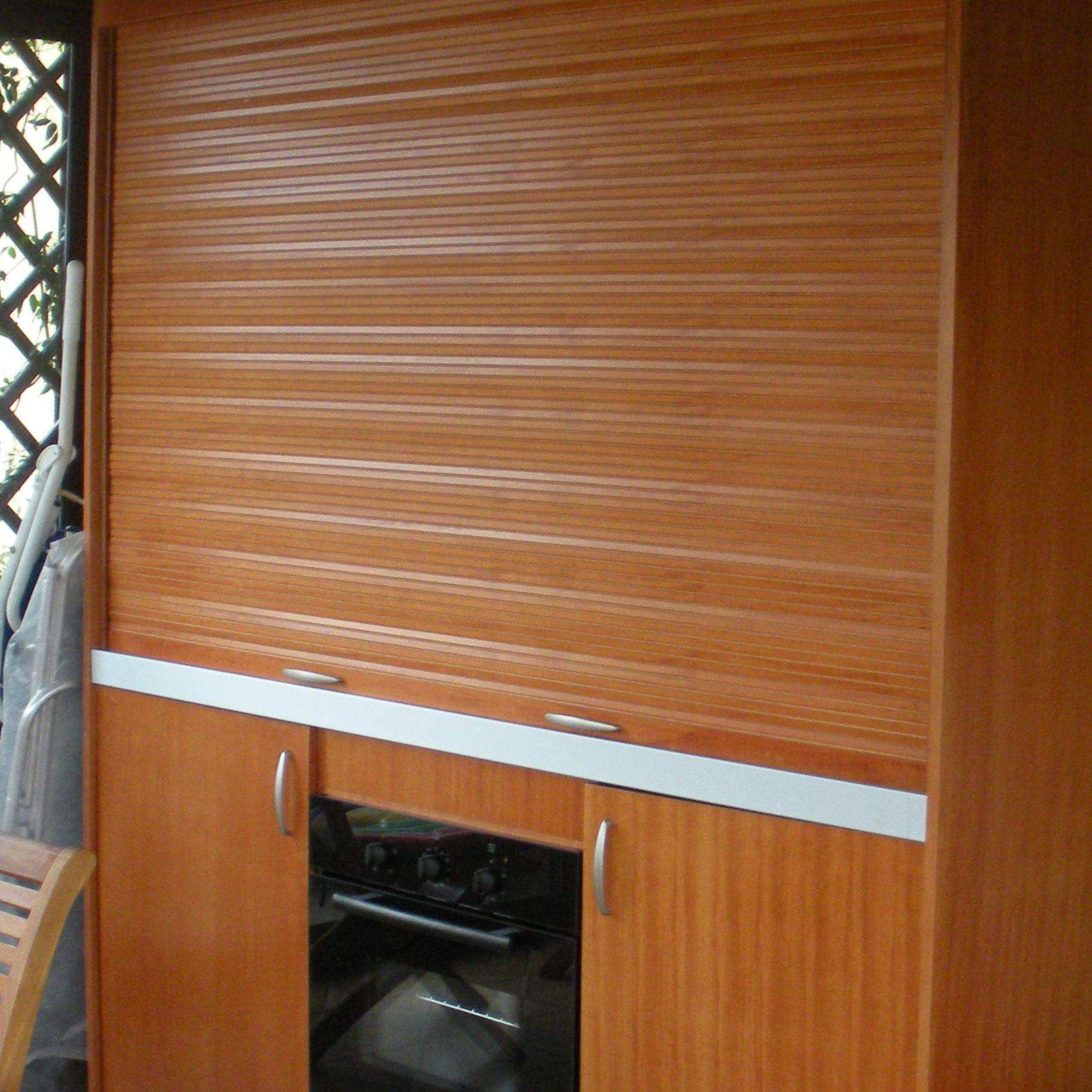 Armadio cucina compact 184 vivilospazio mobili - Cucine armadio a scomparsa ...