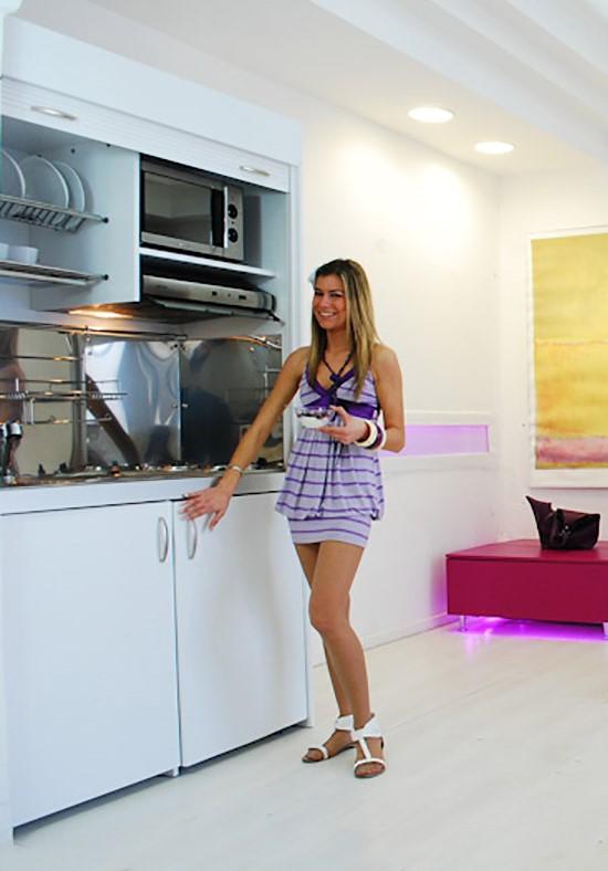 Armadio Cucina compact 125 - vivilospazio - mobili trasformabili