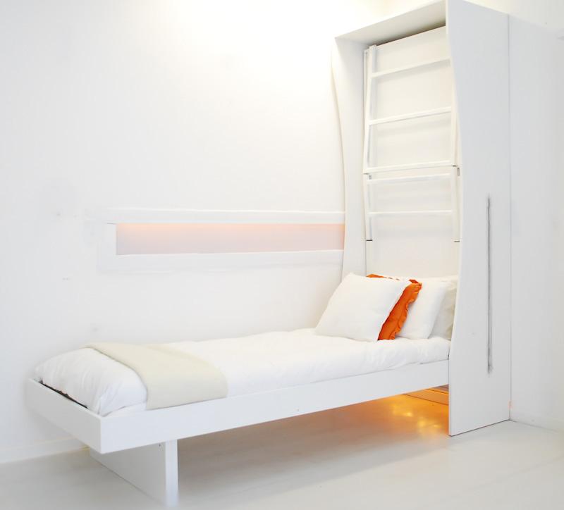 Armadio letto a scomparsa a castello new armadio bed vivilospazio mobili trasformabili - Letto a castello con armadio ...