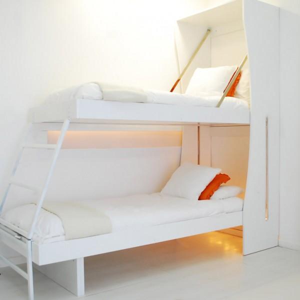il new armadio letto a parete a castello
