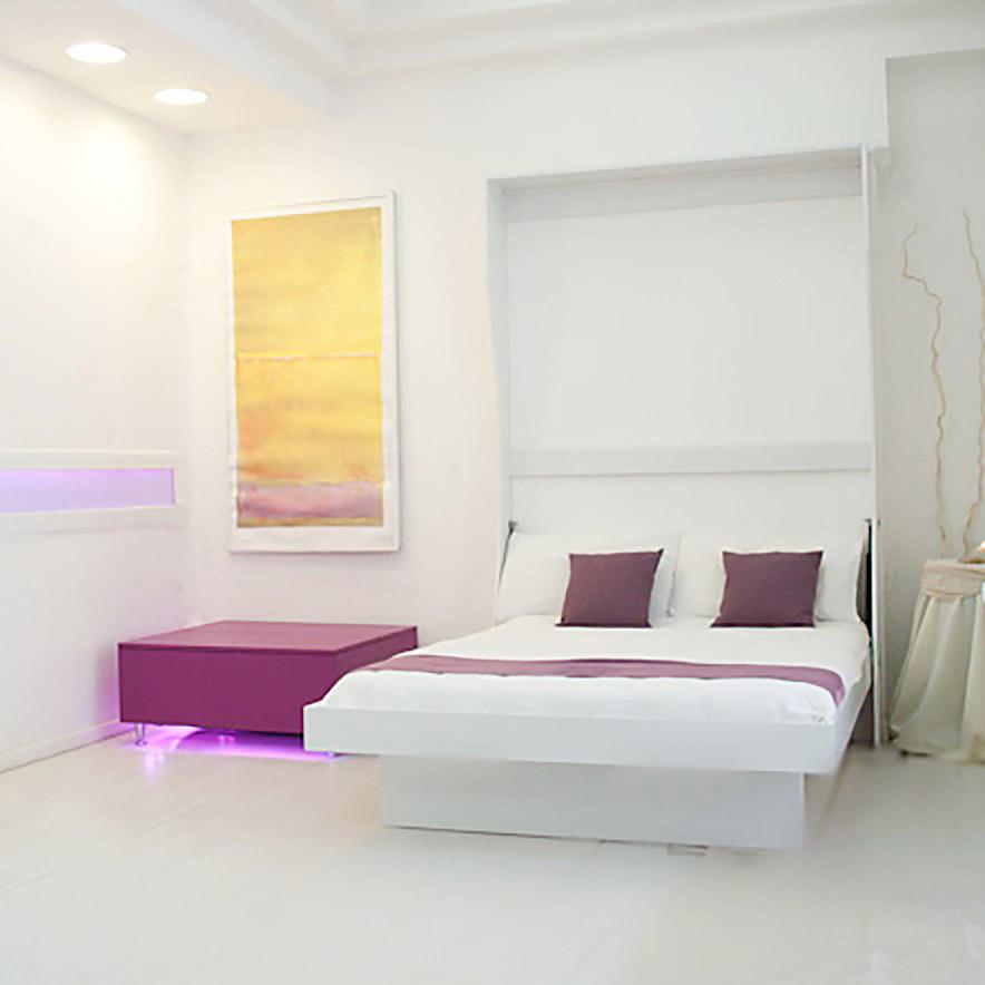 Letto a scomparsa matrimoniale a ribalta bed vivilospazio mobili trasformabili - Letto a parete a scomparsa ...
