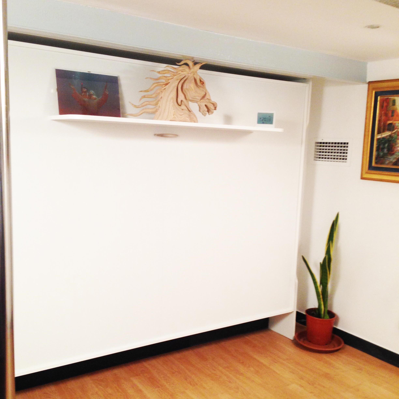 Letto a scomparsa matrimoniale consolle bed vivilospazio mobili trasformabili - Letto a parete a scomparsa ...