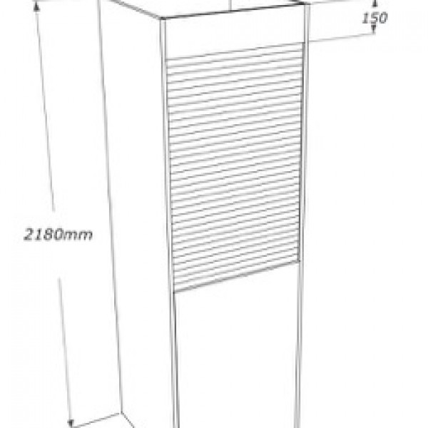 dimensioni personalizzavili della colonna cucina