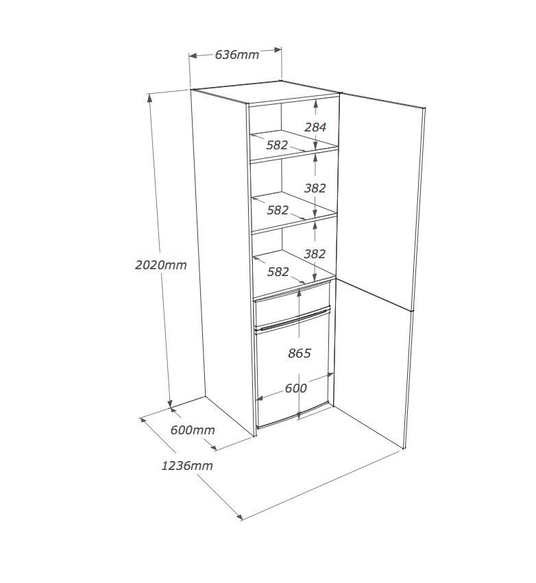Dimensioni Mobili Cucina. Interesting Cucina Designs Dimensioni ...