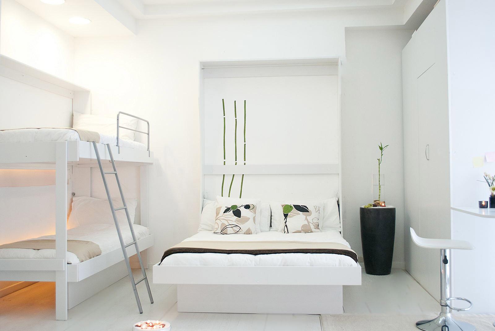 Letto a castello letto matrimoniale a parete vivilospazio mobili trasformabili - Letto matrimoniale a parete ...