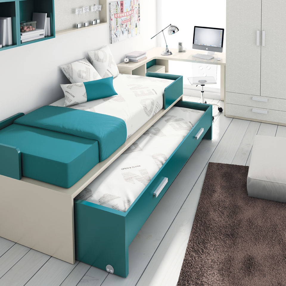 Tante idee per il tuo letto salvaspazio - vivilospazio - mobili ...