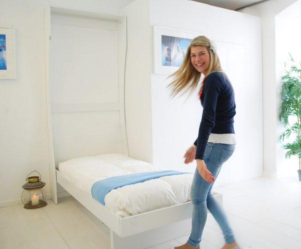 il letto a parete perfetto per l'ottimizzazione dello spazio