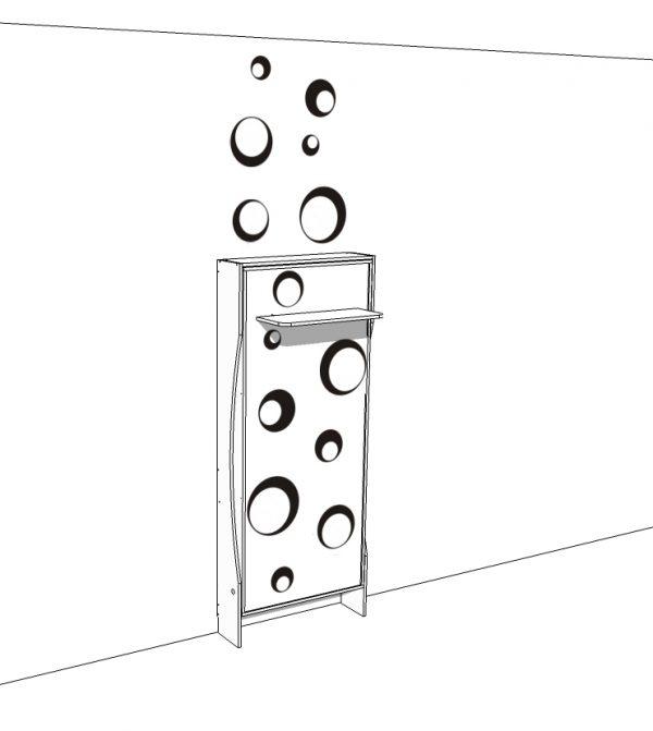 progettazione e fornitura gratuita degli elementi decorativi adesivi