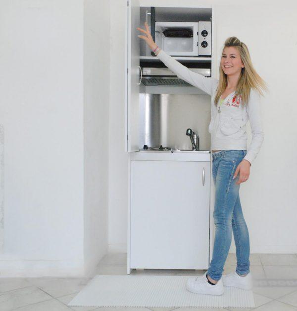 colonna cucina armadio su misura