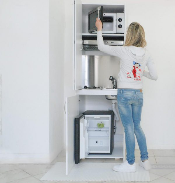 colonna cucina con ante o serranda