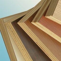 il legno multistrato dei nostri armadi cucina a scomparsa, colorato nelle varie impiallacciature