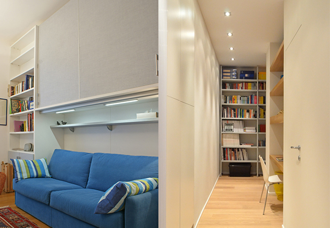 Arredamento case piccole da 40 50 60 mq for Arredamento per case piccole