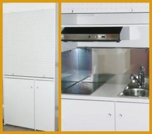 Cucina salvaspazio, cucina moderna per monolocali, cucina ...