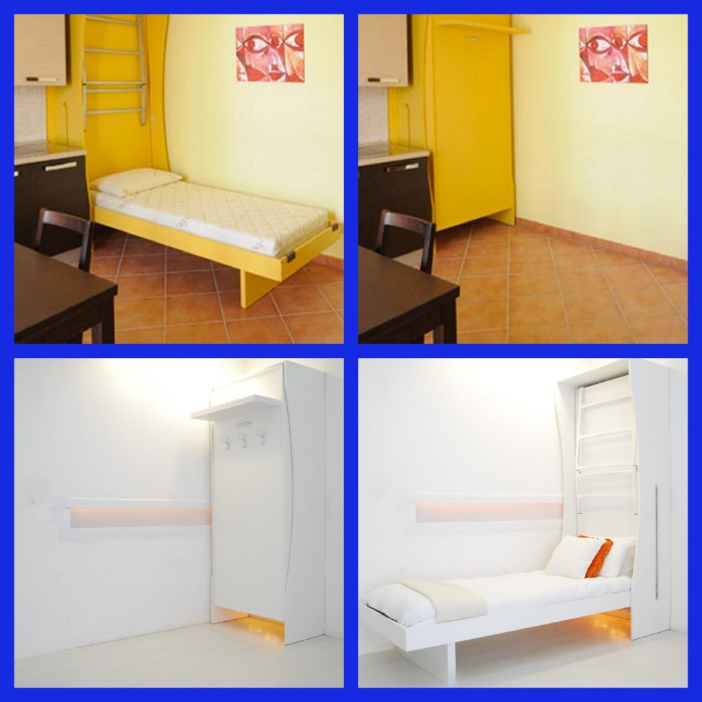 New armadio Bed letto a castello per arredare case di ...